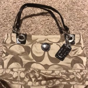 Coach tote...never used